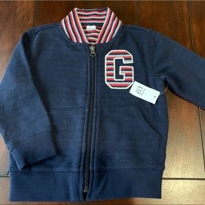 NWT Gap Toddler Boy Varsity Jacket size 2T
